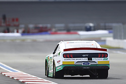 September 27, 2018 - Concord, North Carolina, United States of America - Austin Cindric (22) races down the back straightaway during practice the Drive for the Cure 200 at Charlotte Motor Speedway in Concord, North Carolina. (Credit Image: © Chris Owens Asp Inc/ASP via ZUMA Wire)