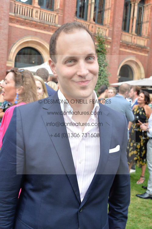 Lord Frederick Windsor at the V&A Summer Party 2017 held at the Victoria & Albert Museum, London England. 21 June 2017.<br /> Photo by Dominic O'Neill/SilverHub 0203 174 1069 sales@silverhubmedia.com