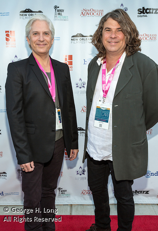 Guest and Jack Forbes on the red carpet during opening night of the 25th Anniversary New Orleans Film Festival; Opening night film is 'Black and White' directed by Mike Binder