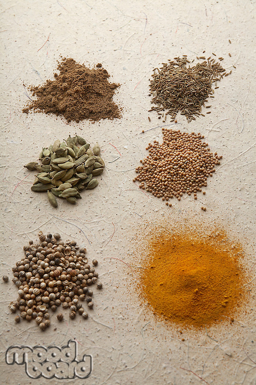 Heaps of spices