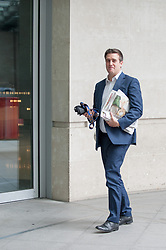 Executive Editor of ConservativeHome, Mark Wallace arrives at the BBC for the Andrew Marr show.<br /> <br /> Richard Hancox | EEm 07072019