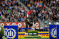 GUERY Jérome (BEL), Quel Homme de Hus <br /> Aachen - CHIO 2019<br /> Mercedes-Benz Nationenpreis<br /> Mannschaftsspringprüfung mit zwei Umläufen<br /> 2. Runde/Second Round<br /> 18. Juli 2019<br /> © www.sportfotos-lafrentz.de/Stefan Lafrentz