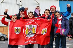 Bristol City fans gather outside Madejski Stadium - Mandatory by-line: Jason Brown/JMP - 26/11/2016 - FOOTBALL - Madejski Stadium - Reading, England - Reading v Bristol City - Sky Bet Championship
