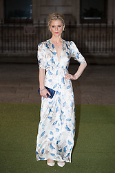 Image ©Licensed to i-Images Picture Agency. 04/06/2014. London, United Kingdom. Royal Academy Summer Exhibition Preview Party. Emilia Fox arrives to the Summer Exhibition Preview Party at the Royal Academy of Arts. Picture by Daniel Leal-Olivas / i-Images