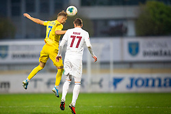 Dejan Lazarevic of Domzale and Ozbej Kuhar of Triglav during football match between NK Domzale and NK Triglav in Round #18 of Prva liga Telekom Slovenije 2019/20, on November 23, 2019 in Sports park Domzale, Slovenia. Photo by Sinisa Kanizaj / Sportida