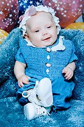 19 Jan,2006. Collect photograph.  Eminem's daughter, Hailie Jade Mathers at 6 weeks old.  Marshall Bruce Mathers III daughter at just 6 weeks old. <br /> Photo Credit: Kresin via  www.varleypix.com