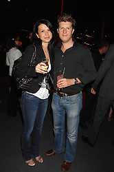 JEREMY SINGER and MAYA SIMONOVSKA at a party to celebrate the launch of the new Fiat Bravo held at The Roundhouse Theatre, Chalk Farm Road, London on 13th June 2007.<br />