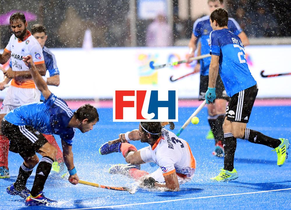 Odisha Men's Hockey World League Final Bhubaneswar 2017<br /> Match id:19<br /> India v Argentina<br /> Foto: Rupinder Pal Singh (Ind) <br /> COPYRIGHT WORLDSPORTPICS FRANK UIJLENBROEK