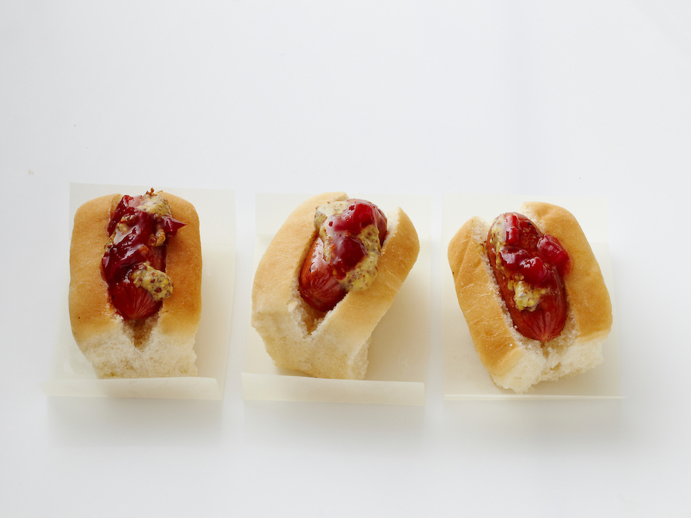 Andouille Mini Hot Dogs