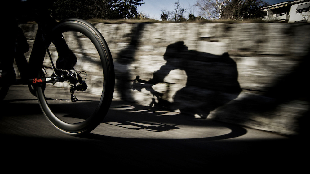 Rider:  Cadel Evans<br /> Location: Lugano (Switzerland)<br /> Client: BMC Cycling