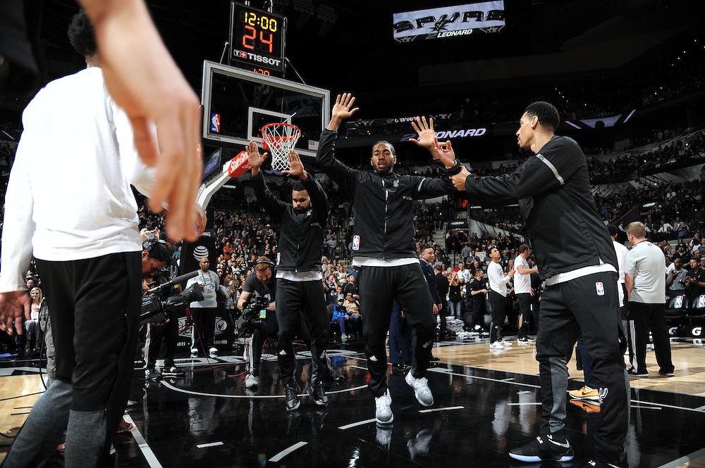 Mavericks vs. Spurs, Nov. 21, 2016.