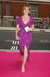 SANTA SEBAG-MONTEFIORE at a charity event 'In The Pink' a night of music and fashion in aid of the Breast Cancer Haven in association with fashion designer Catherine Walker held at the Cadogan Hall, Sloane Terrace, London on 20th June 2005.<br /><br />NON EXCLUSIVE - WORLD RIGHTS