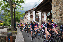 Claudia Koster (NED) of Veloconcept Cycling Team rides mid-pack during Stage 1 of the Emakumeen Bira - a 50 km road race, starting and finishing in Iurreta on May 16, 2017, in Basque Country, Spain.