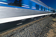 Intercity passenger train, NSW, Australia