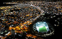 "Football Fifa World Cup Brazil 2014 / <br /> Natal - Rio Grande do Norte  - Brazil - <br /> Panoramic View of New Stadium "" Arena Das Dunas Stadium "" , Ready for the next  <br /> FIFA World Cup Brazil 2014  , and able to accommodate a capacity of 42.086 Spectators"