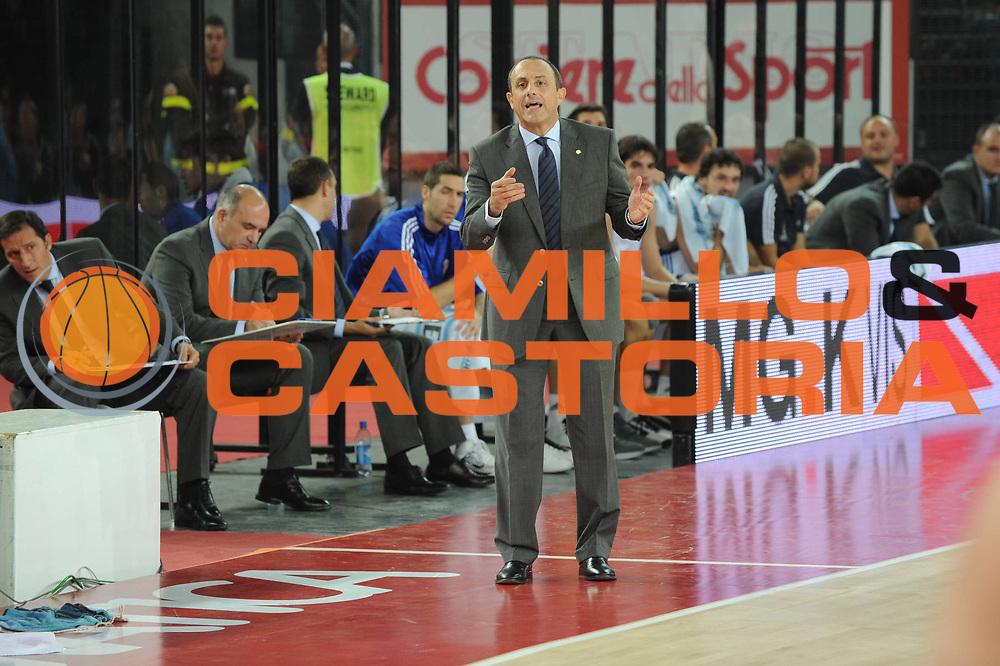 DESCRIZIONE : Roma Eurolega 2010-11 Lottomatica Virtus Roma Real Madrid<br /> GIOCATORE : Ettore Messina<br /> SQUADRA : Real Madrid<br /> EVENTO : Eurolega 2010-2011<br /> GARA :  Lottamtica Virtus Roma Real Madrid<br /> DATA : 04/11/2010<br /> CATEGORIA : coach<br /> SPORT : Pallacanestro <br /> AUTORE : Agenzia Ciamillo-Castoria/GiulioCiamillo<br /> Galleria : Eurolega 2010-2011<br /> Fotonotizia : Roma Eurolega Euroleague 2010-11 Lottomatica Virtus Roma Real Madrid<br /> Predefinita :