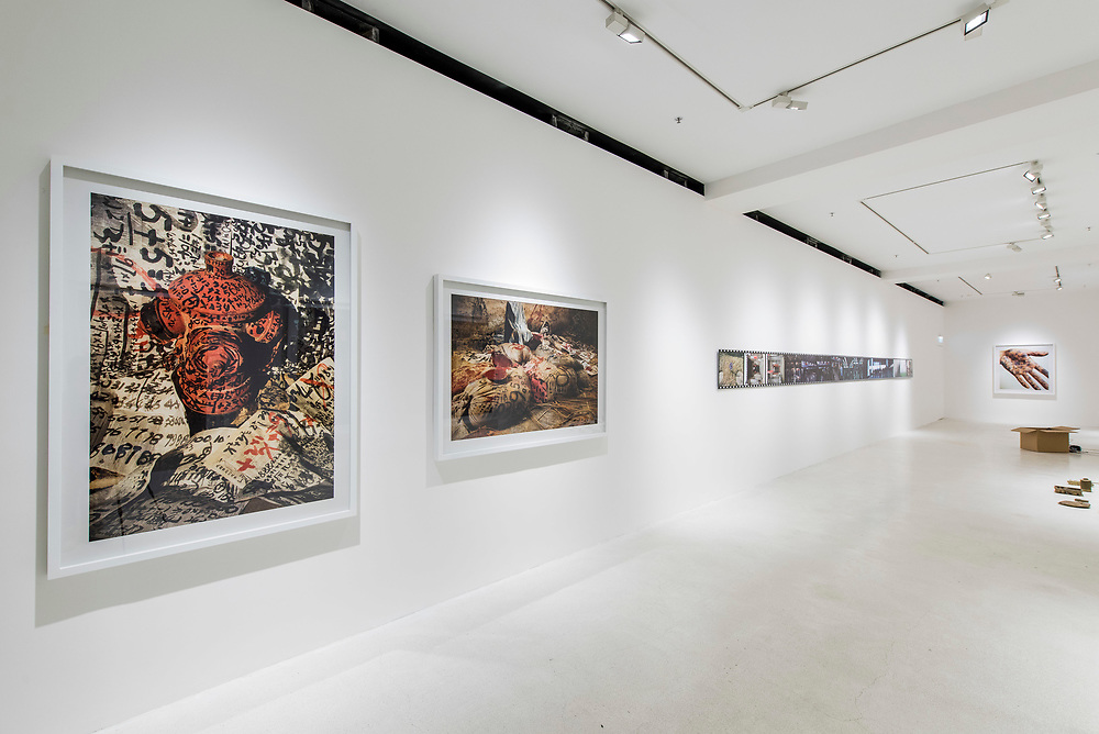 Asynchronous, Parallel Tautological, Et cetera..., by Ni Haifeng solo exhibition, at Pearl Lam Galleries on July 30, 2015, in Hong Kong, China. Photo by Moses Ng / studioEAST
