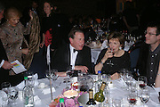 Michael Portillo and Joan Bakewell. 2004 Whitbread Book Awards. The Brewery, Chswell st. London EC1. 25 January 2005. ONE TIME USE ONLY - DO NOT ARCHIVE  © Copyright Photograph by Dafydd Jones 66 Stockwell Park Rd. London SW9 0DA Tel 020 7733 0108 www.dafjones.com