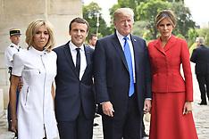 Paris: President Trump Visits France 13 - 14 July 2017