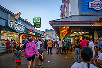 Boardwalk entertainment, Ocean City, Maryland, USA.