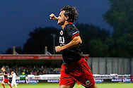 Onderwerp/Subject: SC Excelsior - Eredivisie<br /> Reklame:  <br /> Club/Team/Country: <br /> Seizoen/Season: 2014/2015<br /> FOTO/PHOTO: Daryl VAN MIEGHEM of SC Excelsior celebrating his goal ( 3 - 1 ). (Photo by PICS UNITED)<br /> <br /> Trefwoorden/Keywords: <br /> #02 #09 #17 $94 ±1401918822084<br /> Photo- & Copyrights © PICS UNITED <br /> P.O. Box 7164 - 5605 BE  EINDHOVEN (THE NETHERLANDS) <br /> Phone +31 (0)40 296 28 00 <br /> Fax +31 (0) 40 248 47 43 <br /> http://www.pics-united.com <br /> e-mail : sales@pics-united.com (If you would like to raise any issues regarding any aspects of products / service of PICS UNITED) or <br /> e-mail : sales@pics-united.com   <br /> <br /> ATTENTIE: <br /> Publicatie ook bij aanbieding door derden is slechts toegestaan na verkregen toestemming van Pics United. <br /> VOLLEDIGE NAAMSVERMELDING IS VERPLICHT! (© PICS UNITED/Naam Fotograaf, zie veld 4 van de bestandsinfo 'credits') <br /> ATTENTION:  <br /> © Pics United. Reproduction/publication of this photo by any parties is only permitted after authorisation is sought and obtained from  PICS UNITED- THE NETHERLANDS