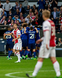 24-05-2017 SWE: Final Europa League AFC Ajax - Manchester United, Stockholm<br /> Finale Europa League tussen Ajax en Manchester United in het Friends Arena te Stockholm / Joel Veltman #3 of Ajax