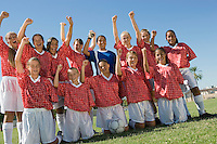 Girls' Soccer Team