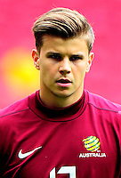Football Fifa Brazil 2014 World Cup Matchs-Friendly / <br /> Brazil vs Australia 6-0  ( Mane Garrincha Stadium - Brasilia , Brazil )<br /> Mitch LANGERAK of Australia , on action during the Friendly match between Brazil and Australia