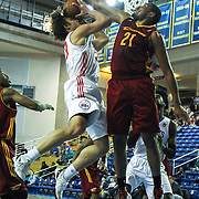 Delaware 87ers Guard Matthew Bouldin (23) drives towards the basket as Canton Charge Forward Kevin Jones (21) defends in the first half of a NBA D-league regular season basketball game between the Delaware 87ers (76ers) and The Canton Charge (Cleveland Cavaliers) Friday, Jan 24, 2014 at The Bob Carpenter Sports Convocation Center, Newark, DEL.