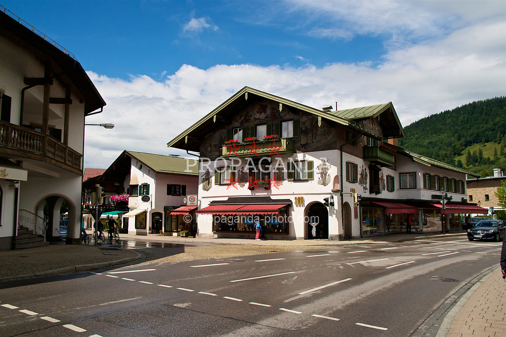 ROTTACH-EGERN, GERMANY - Wednesday, July 26, 2017: Rottach-Egern, the base for Liverpool's preseason training camp in Germany. (Pic by David Rawcliffe/Propaganda)