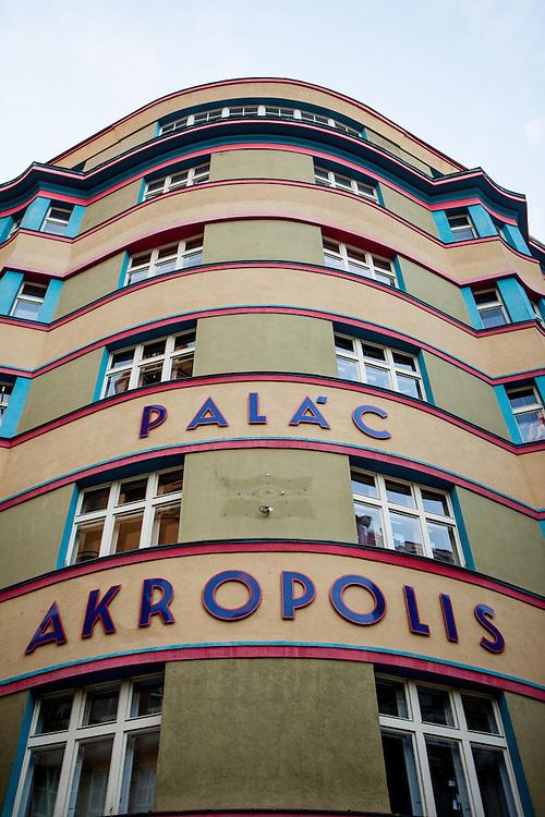 Palac Akropolis in Prag Zizkov.