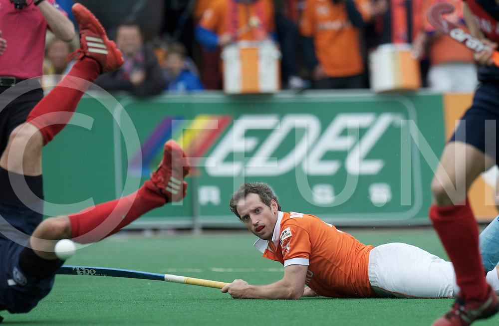 BLOEMENDAAL - Bloemendaal wins EHL Final..KHC Dragons - HC Bloemendaal.Foto: Ronald Brouwer..FFU PRESS AGENCY COPYRIGHT FRANK UIJLENBROEK.