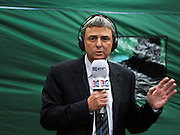 © Licensed to London News Pictures. 29/11/2011, London, UK. DAVE PRENTIS General Secretary of UNISON. Politicians and Union leaders talk to the media on College Green, London, a day before an estimated 2.6 million people will march through London protesting against the Governments controversial pension plans. Photo credit : Stephen Simpson/LNP
