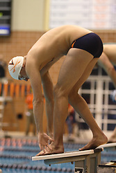 University of Virginia Cavaliers Men's Swimming and Diving team competed against Penn State, Virginia Tech and Clemson at the Aquatic and Fitness Center in Charlottesville, VA on October 27, 2006...