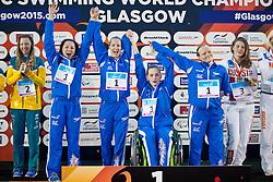 Team GB GBR at 2015 IPC Swimming World Championships -  Women's 4x100m Medley Relay 34PTS