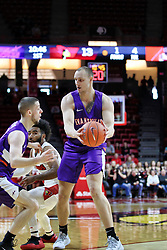 NORMAL, IL - January 05: Dainius Chatkevicius during a college basketball game between the ISU Redbirds and the University of Evansville Purple Aces on January 05 2019 at Redbird Arena in Normal, IL. (Photo by Alan Look)