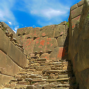 The mystery remains over who really built Ollantaytambo.