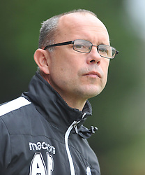 ANDY PEAKS MANAGER  RUSHDEN &amp; DIAMONDS, AFC Rushden &amp; Diamonds v Kidsgrove Athletic FA Challenge Trophy, Hayden Road Rushden Saturday 7th October 2017<br /> Score 1-3 Photo:Mike Capps