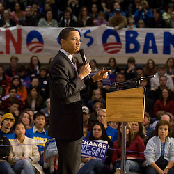 Barack Obama at UNR for Bloomberg News (011808)