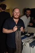 DEREK LAWLOR; CIRO ESPOSITO, The Arthur Cox Irish Fashion Showcase 2015,  Irish based designers chosen to be part of this year's Arthur Cox Irish Fashion Showcases The Mall Galleries, London. 13 May 2015.