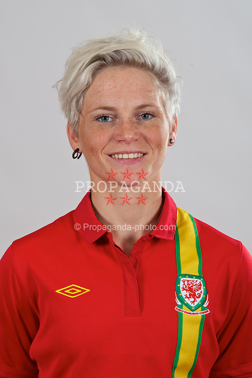 CARDIFF, WALES - Wednesday, September 12, 2012: Wales' Jessica Fishlock. (Pic by David Rawcliffe/Propaganda)