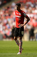 Ashley Fletcher of Barnsley during the Sky Bet League 1 Play-off Final between Barnsley and Millwall at Wembley Stadium, London<br /> Picture by Richard Blaxall/Focus Images Ltd +44 7853 364624<br /> 29/05/2016