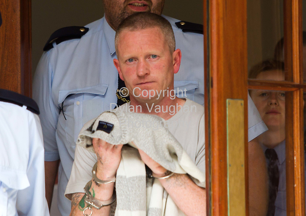 22/6/2010.Jason Murphy pictured at Clonmel Court after getting 15 years on manslaughter charges..Picture Dylan Vaughan.