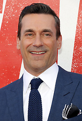 Jon Hamm at the Los Angeles premiere of 'Tag' held at the Regency Village Theatre in Westwood, USA on June 7, 2018.