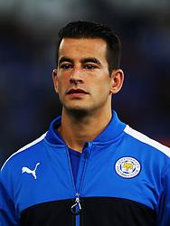 Luis Hernandez of Leicester City  - Mandatory by-line: Matt McNulty/JMP - 27/09/2016 - FOOTBALL - King Power Stadium - Leicester, England - Leicester City v FC Porto - UEFA Champions League