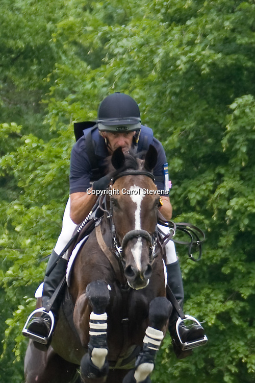Mark Todd and NZB Mouse at Bramham Horse Trials 2010