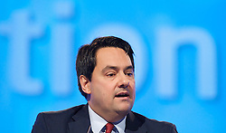 Stephen Twigg MP, Shadow Education Secretary during the Labour Party Conference in Manchester, October 4, 2012. Photo by Elliott Franks / i-Images.
