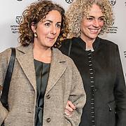 NLD/Rotterdam/20170128 - Premiere Het doet zo zeer, politica Femke Halsema en Paula van der Oest