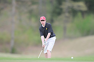 Oxford High golfer Collier Phillips at Oxford Country Club on Thursday, April 8, 2010.