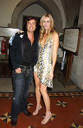 JULIEN MACDONALD and MELISSA ODABASH at Andy & Patti Wong's annual Chinese New Year party, this year celebrating the year of the dog held at The Royal Courts of Justice, The Strand, London WC2 on 28th January 2006.<br /><br />NON EXCLUSIVE - WORLD RIGHTS
